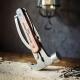 Marteau multi-outils, bois et acier inoxydable