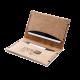 Porte cartes en cuir recyclé