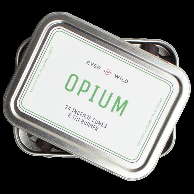 Cône d'encens odeur opium