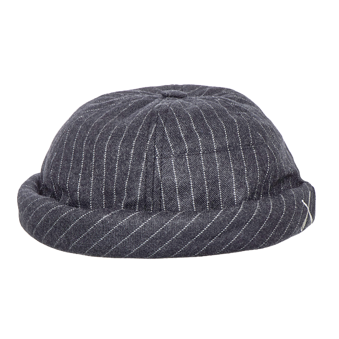 Miki grey stripes patchwork BCBG