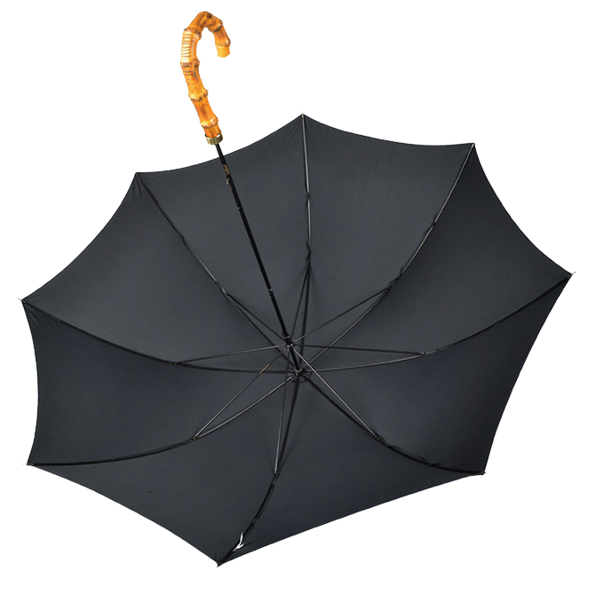 Parapluie poignée bambou Fox Umbrella