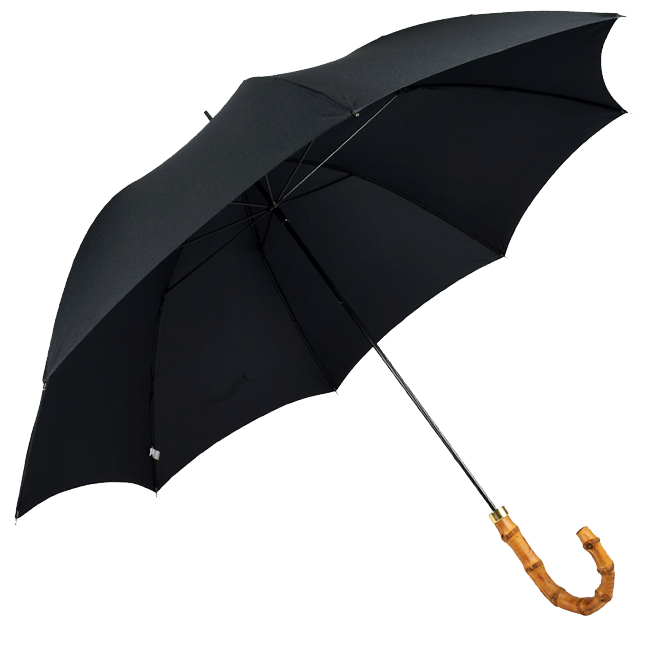 Parapluie poignée bambou first