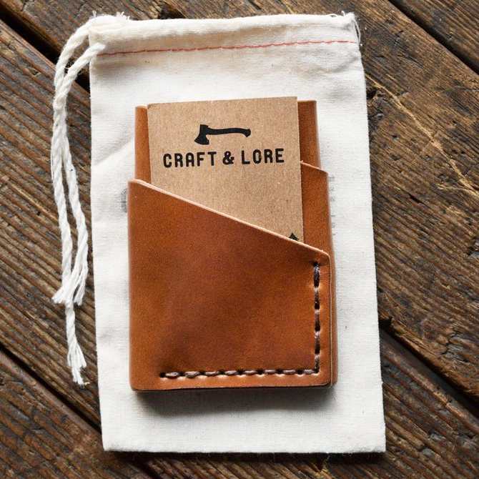 Portefeuille craft and lore
