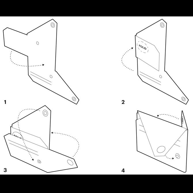 Portefeuille LEMUR Origami