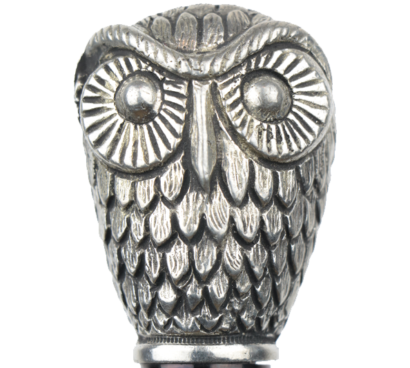 canne collection hibou