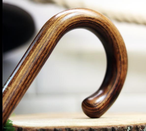 canne ronde en bois